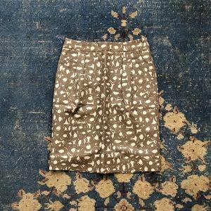 Biden Linen Pencil Skirt 4